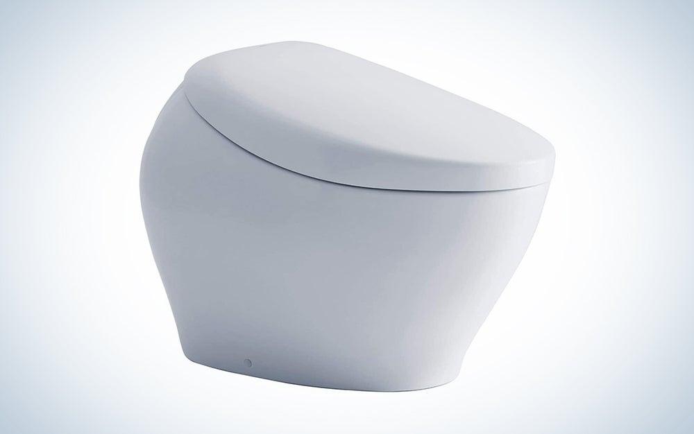 sleek bidet toilet