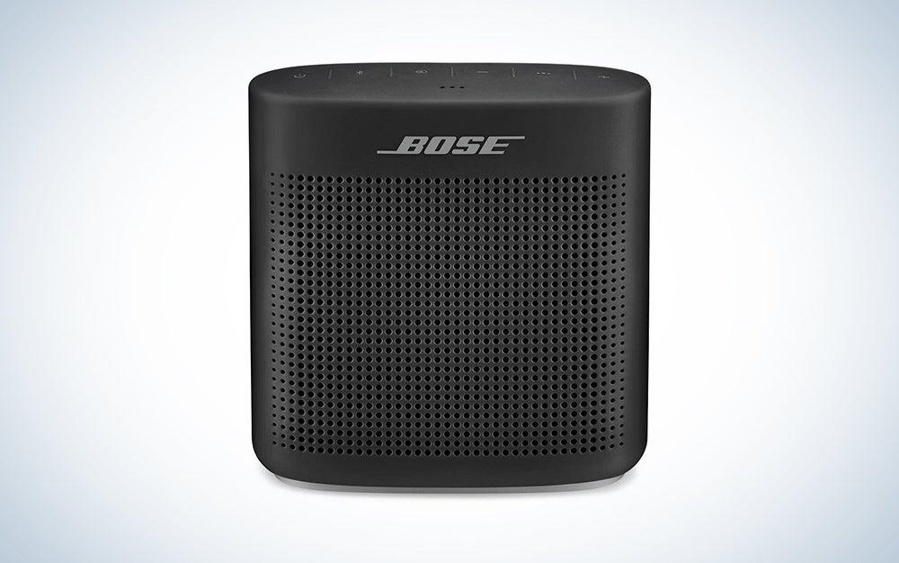 black bluetooth bose speaker