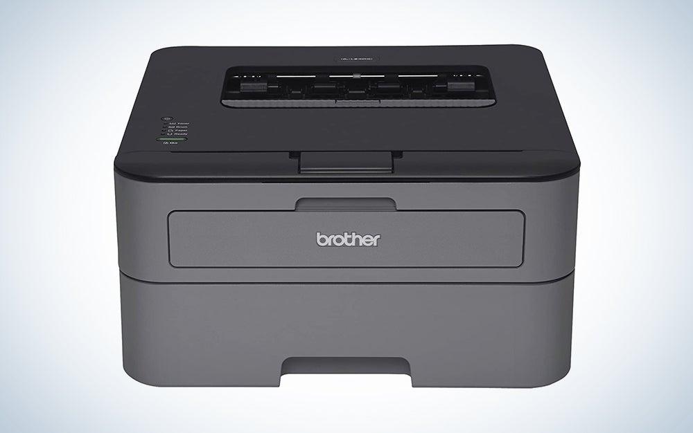 dark grey laser printer