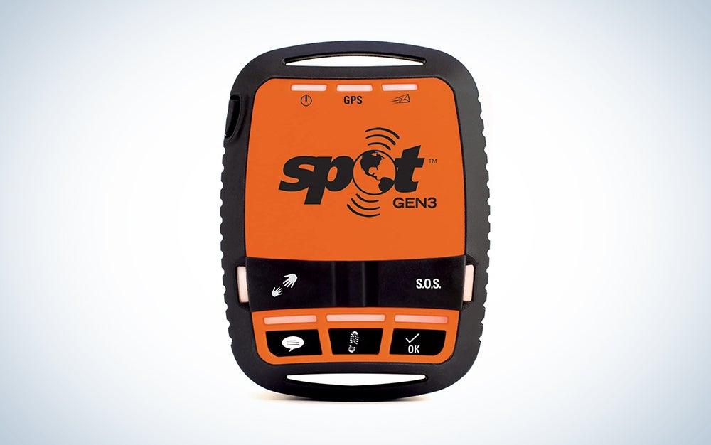 orange and black satellite phone