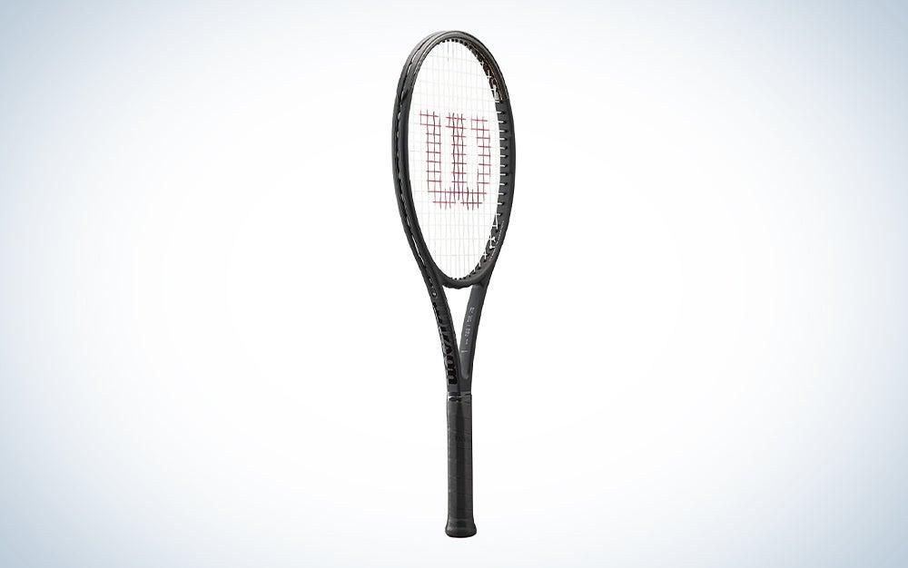 black wilson tennis racket
