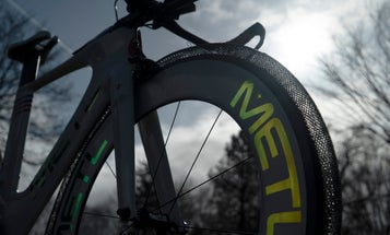 These airless bike tires rely on a metal alloy designed for NASA rovers