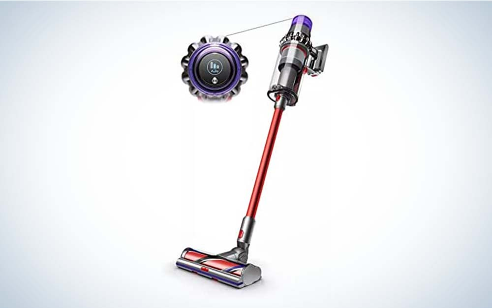 The Dyson V11 Outsize Cordless is the best stick vacuum.