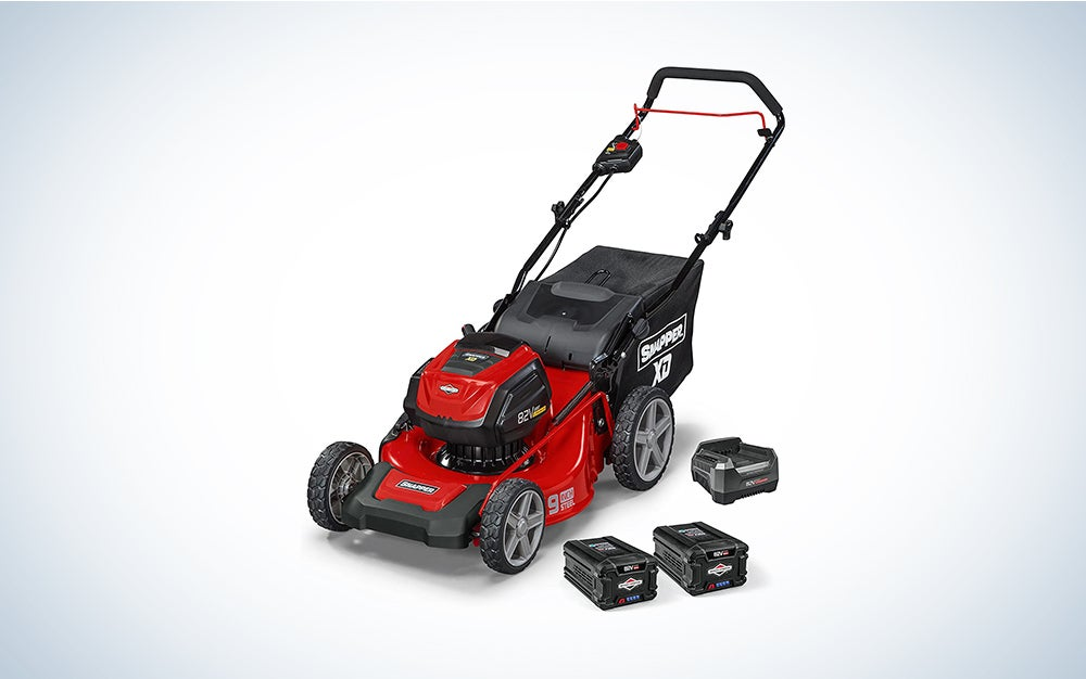 Snapper lawn mower that is cordless