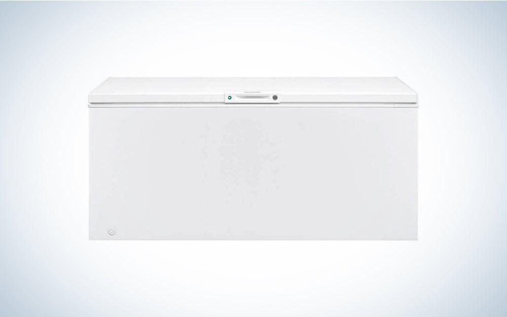 large Frigidaire freezer chest