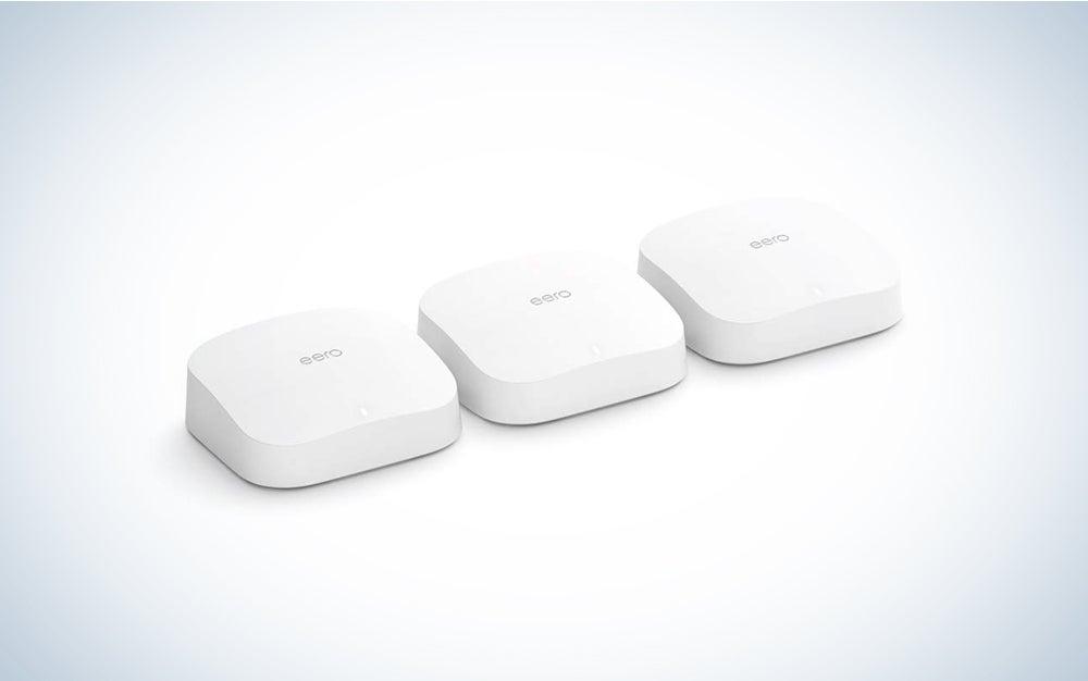 three mesh wifi squares