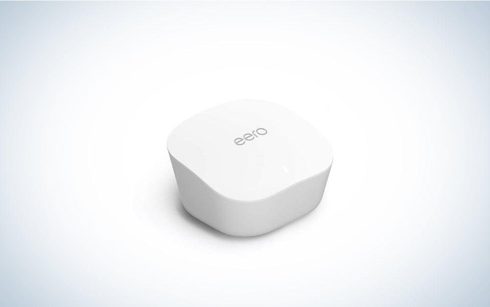 white square mesh wifi eero