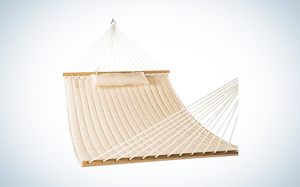 beige luxury hammock