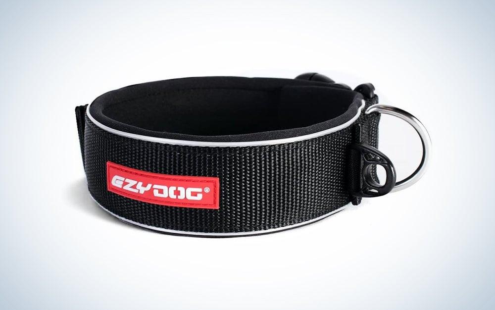 black large dog collar