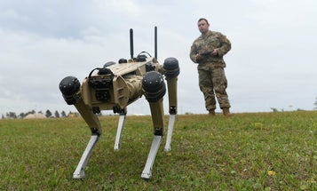 The Air Force's new guard dogs are robots