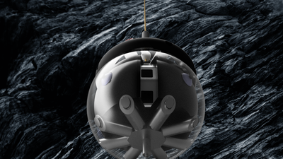 Real-life BB-8 'hamster ball' robot may one day map moon caves