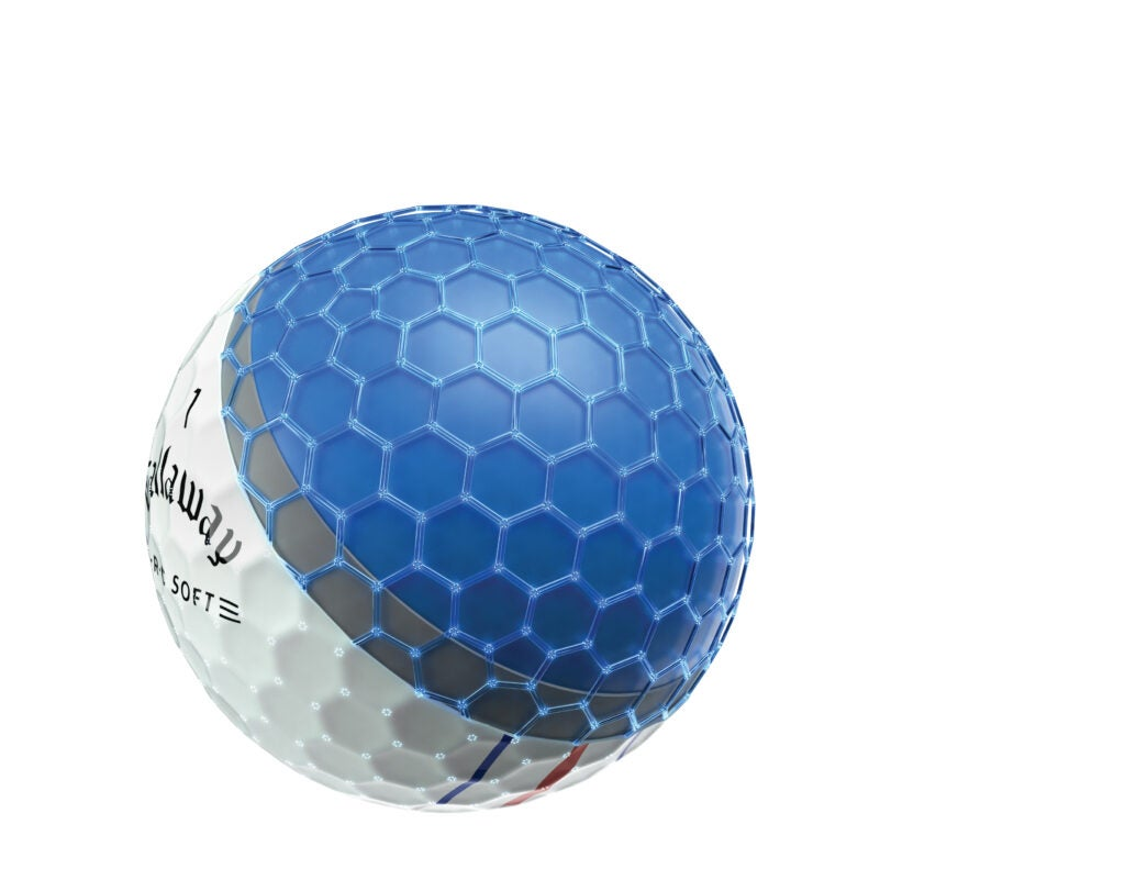Callaway designed its Supersoft golf balls to spin, but not break