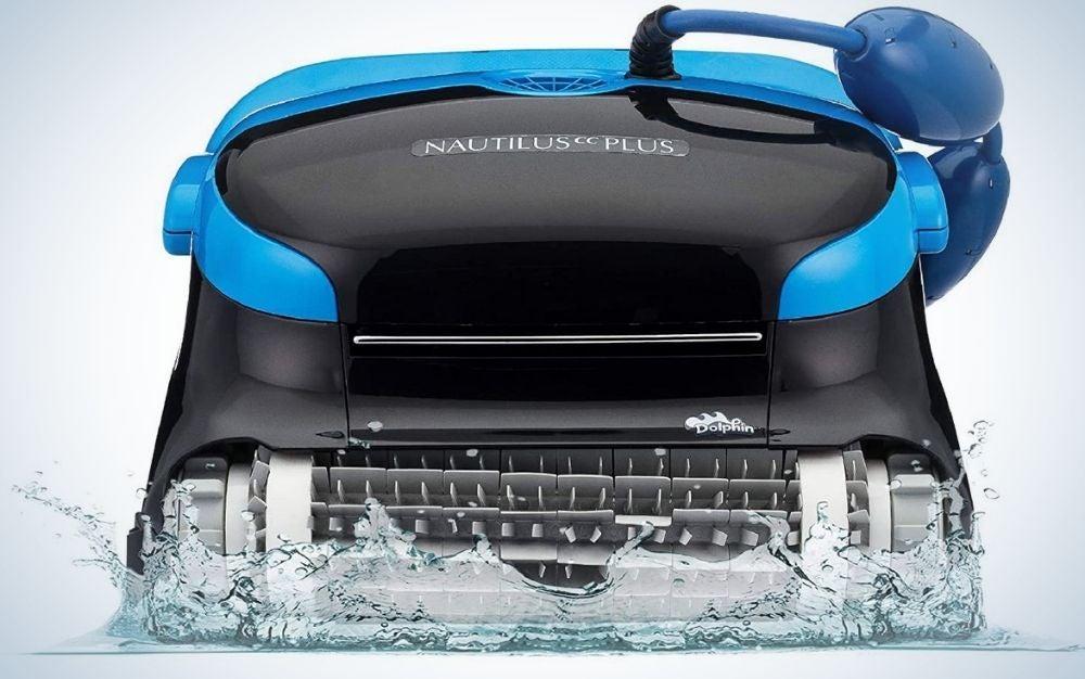 Nautilus CC Plus blue and black above ground pool vacuum cleaner