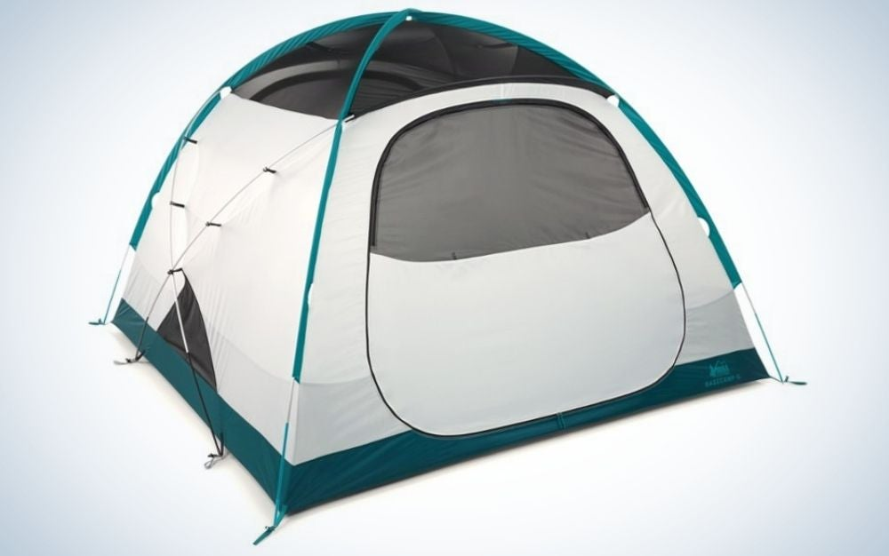 REI camping tent as gift ideas for mom on Mother's Day