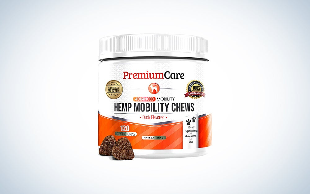 hemp mobility treat container