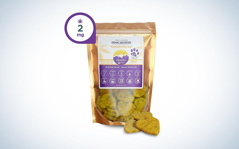 cbd dog treats package
