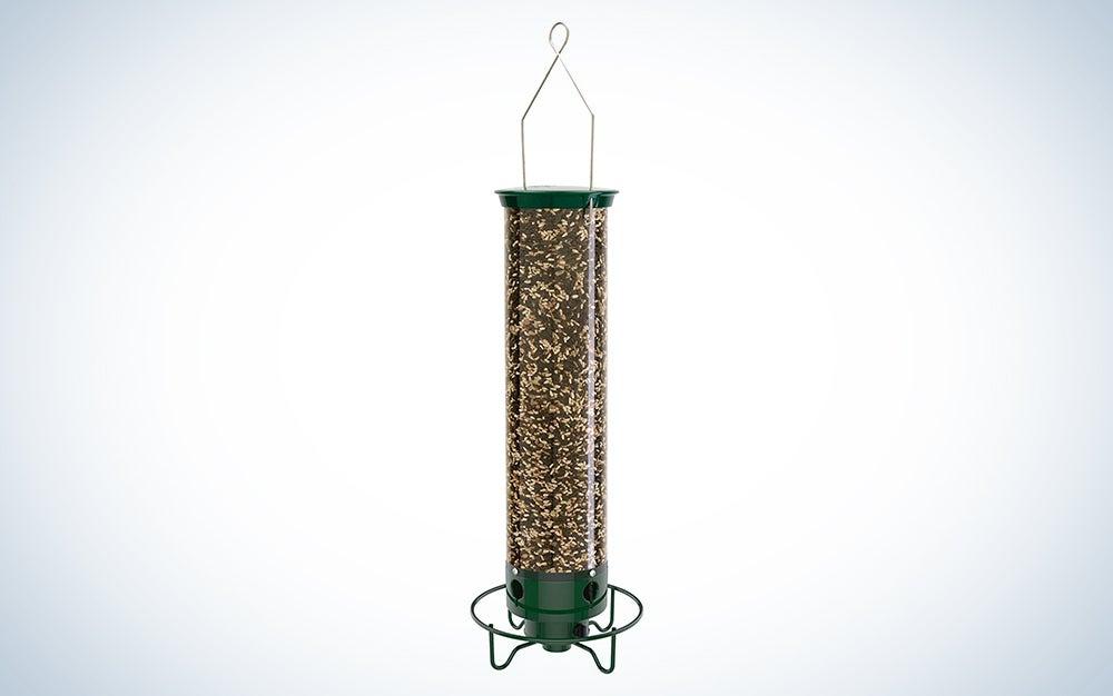 bird feeder with clever design