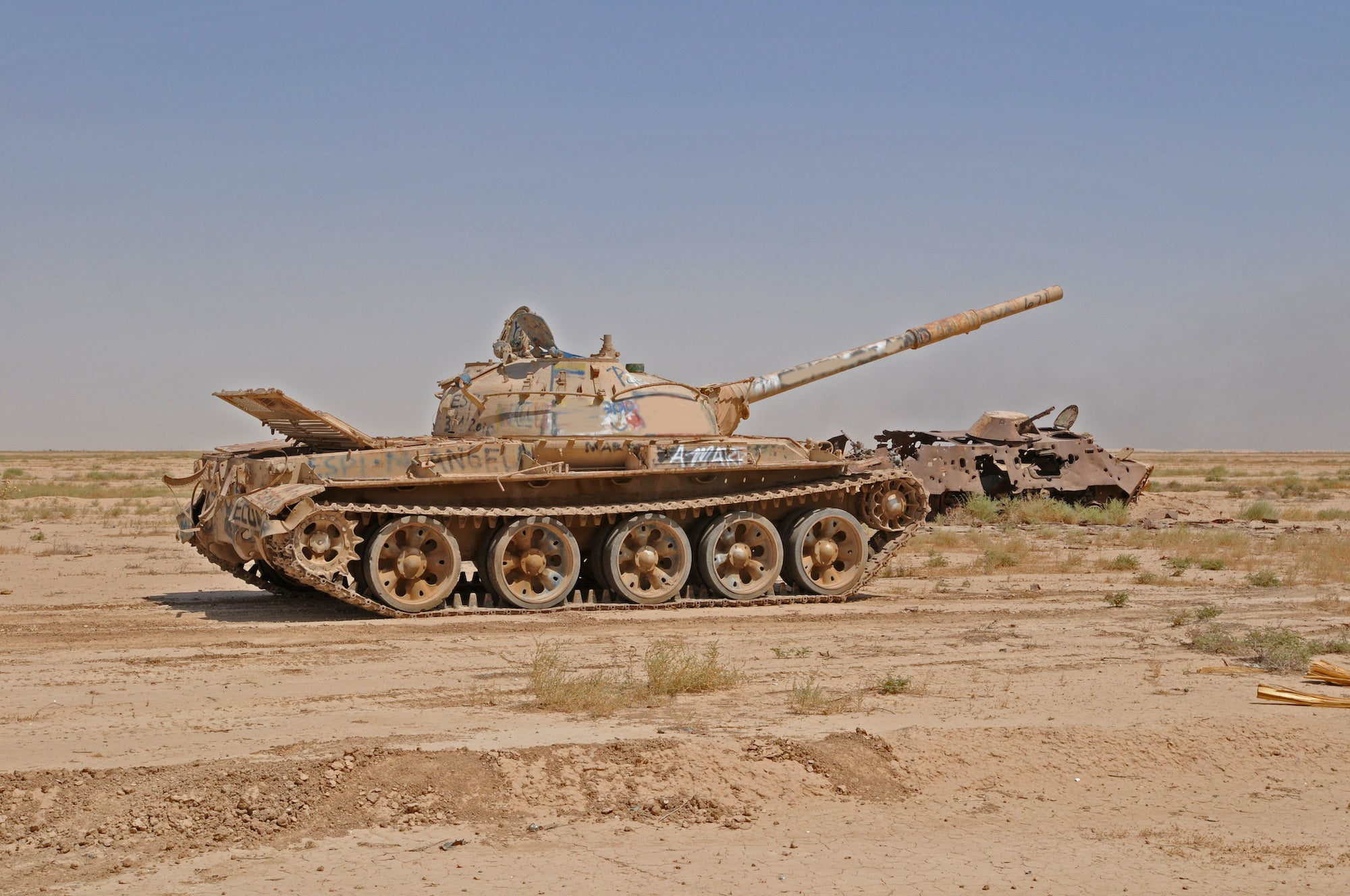 This remote-controlled landmine will attack tanks from above