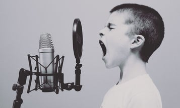 Our most recognizable screams are the most joyful