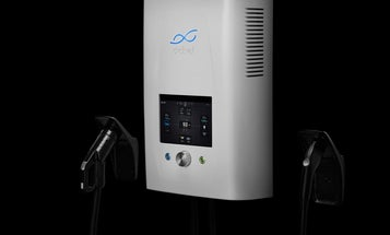 This two-way charger turns electric cars into a backup power source for your home