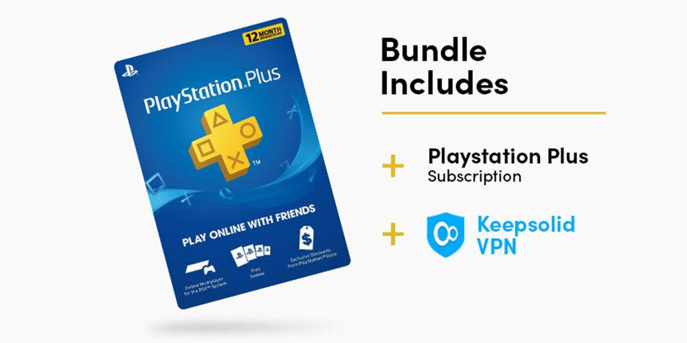 VPN and Playstation Plus Bundle