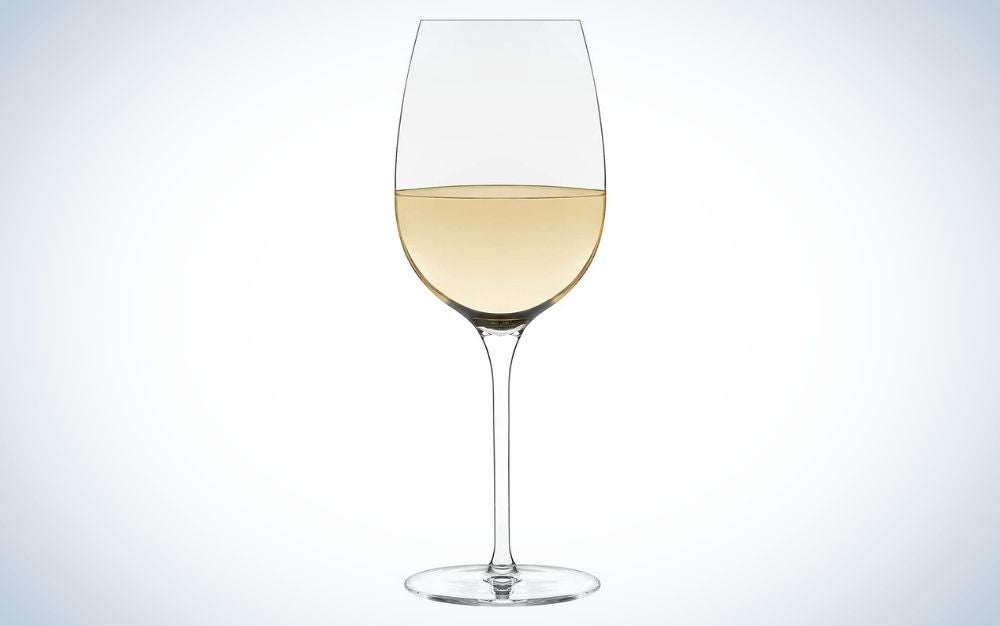 Wine glass for casual dinning