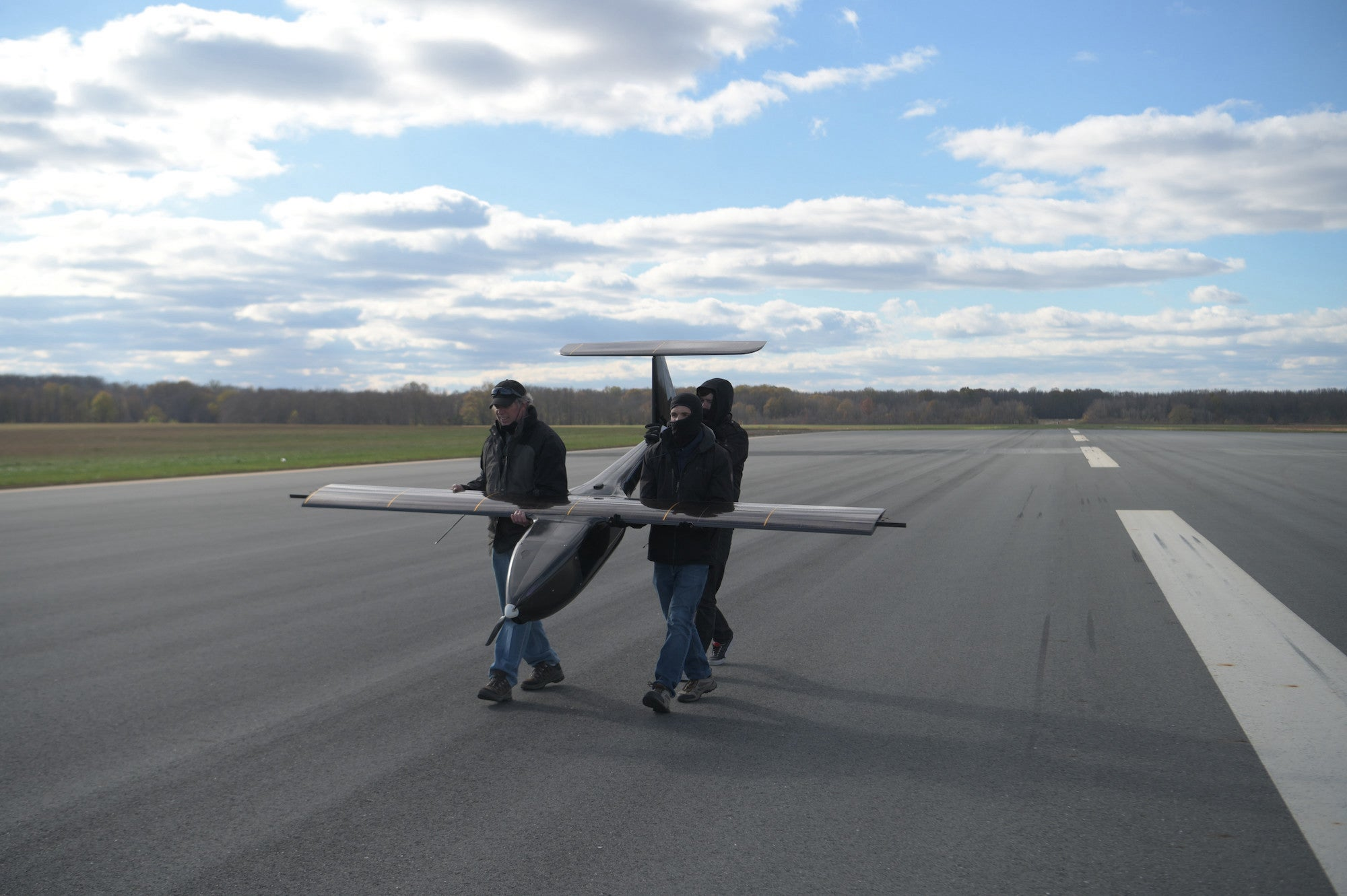 Watch the Navy's new drone fly using just sunlight and hydrogen