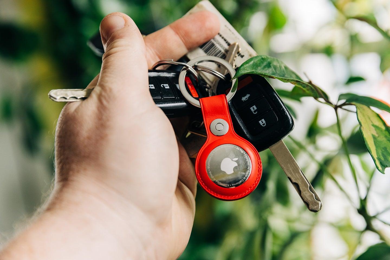 Apple AirTag on keys
