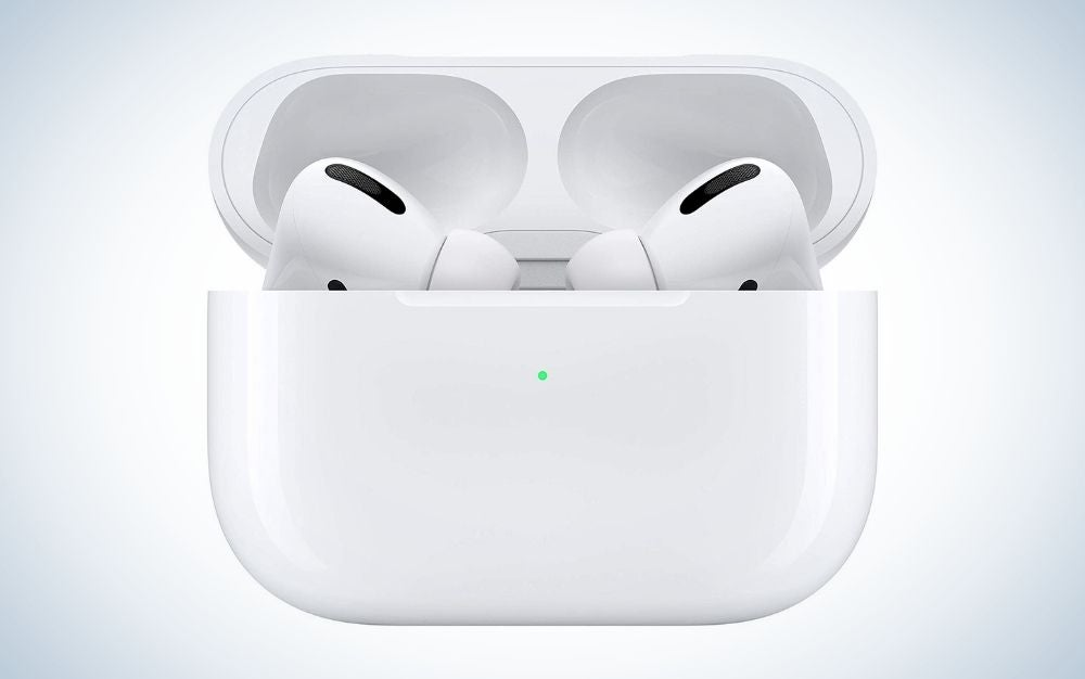 White wireless AirPods Pro college graduation gift for him