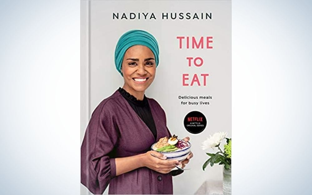 Time to Eat by Nadiya Hussain cookbook as a Mother's Day gift