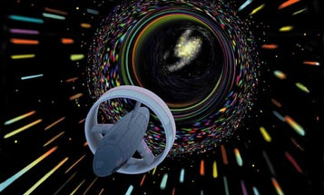 Warp speed space travel just got a tiny bit more realistic