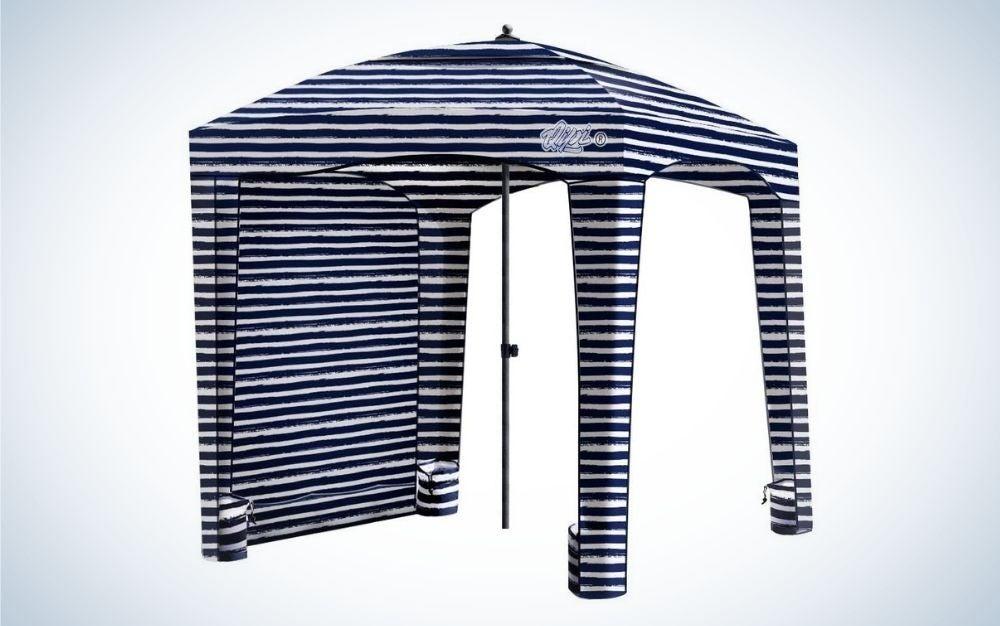 Sailor stripes Cabana beach tent