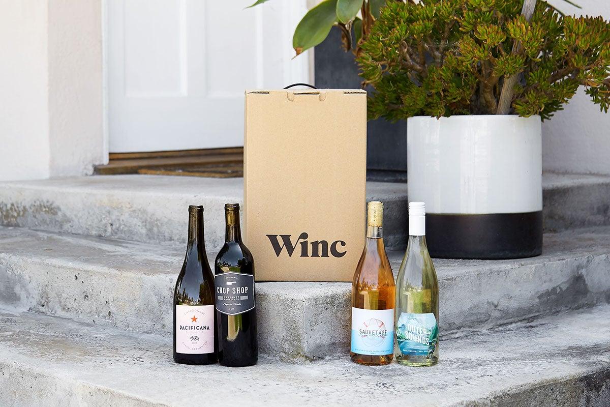 Winc Wine Delivery.