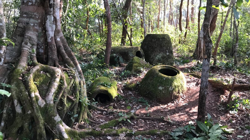 Archaeologists finally uncovered some of the mystery behind Laos's Plain of Jars