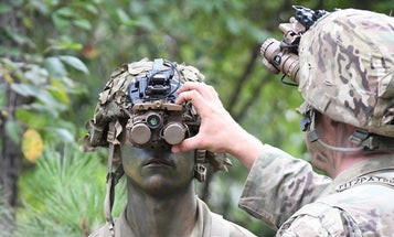 See what combat could look like through the Army's futuristic night vision goggles