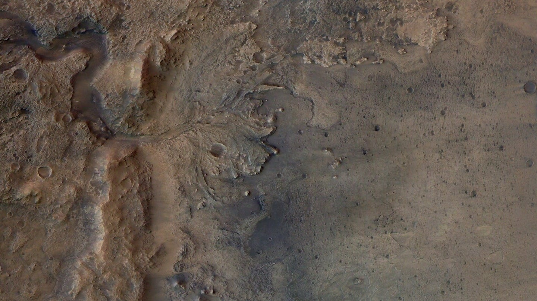 The Mars Jezero crater