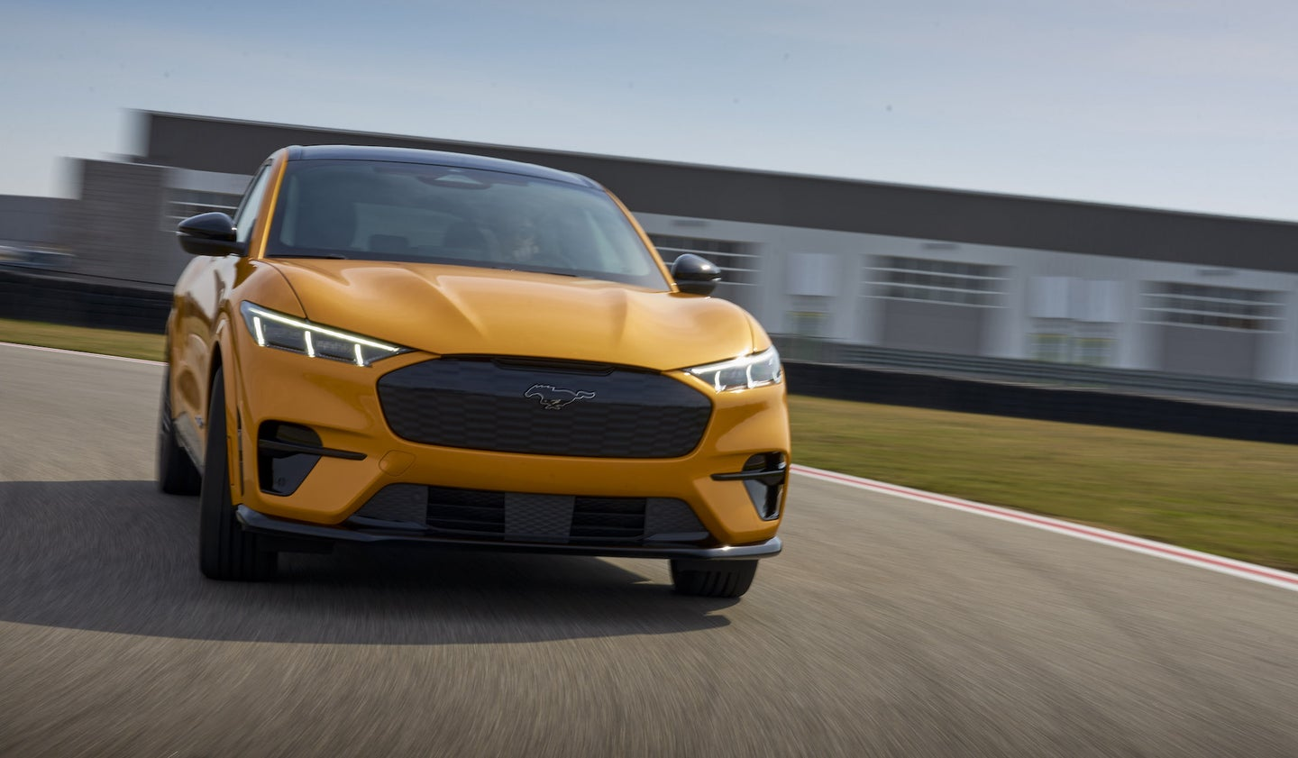 Ford's first follow-up Mustang Mach-E models add even more speed