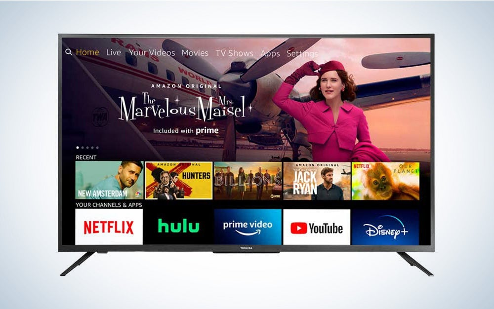 The best 4K TV deal for Amazon Prime Day 2021 is the Toshiba 50-inch Smart 4K UHD with Dolby Vision - Fire TV Edition.