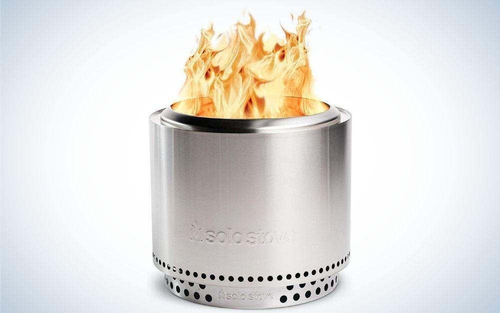 Solo stove bonfire outdoor fire pit