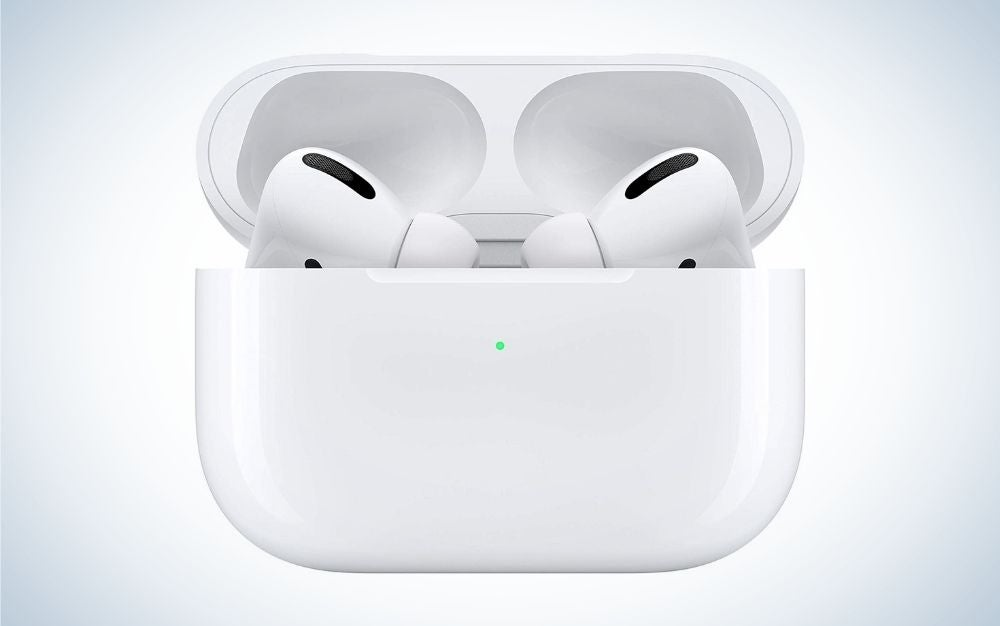 White wireless Apple AirPods Pro mother's day gift