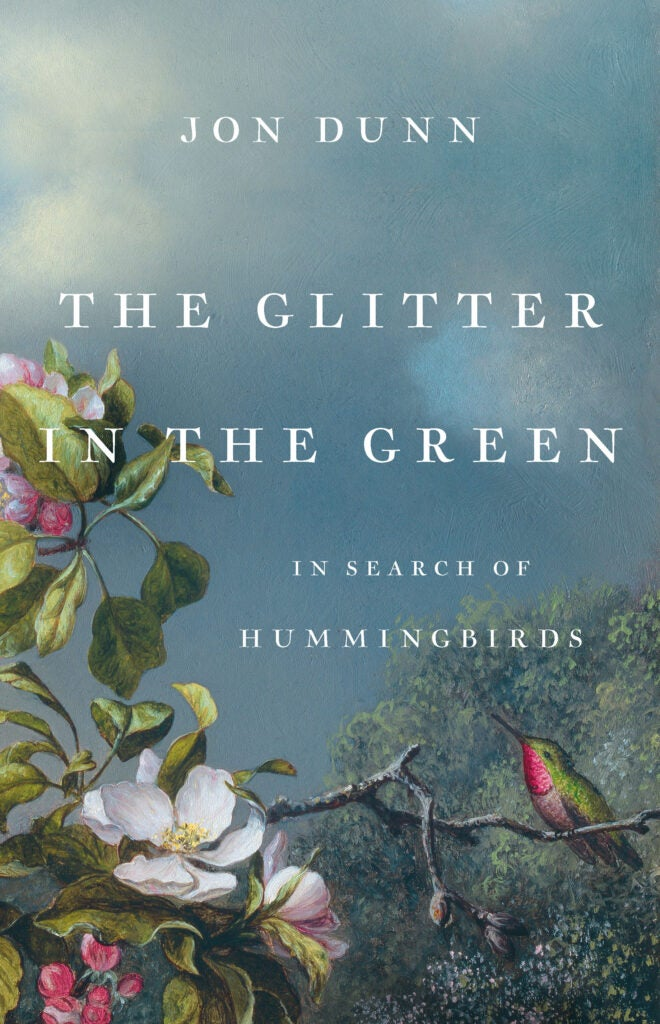 The Glitter in the Green: In Search of Hummingbirds book cover
