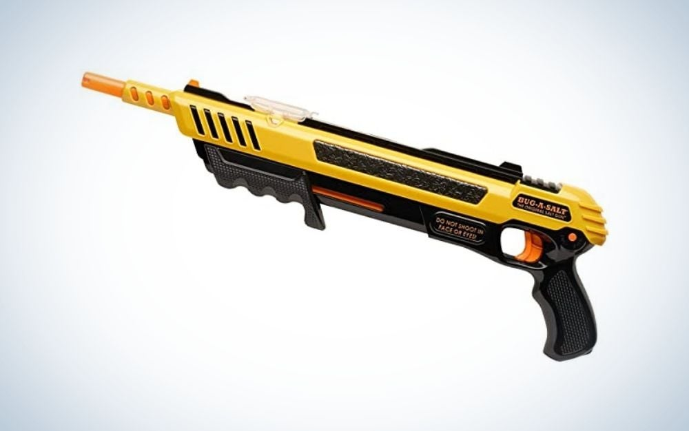 Yellow and black salt gun mother's day gift
