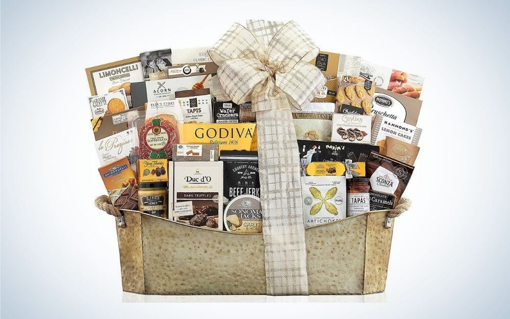Gourmet gift basket mother's day gift