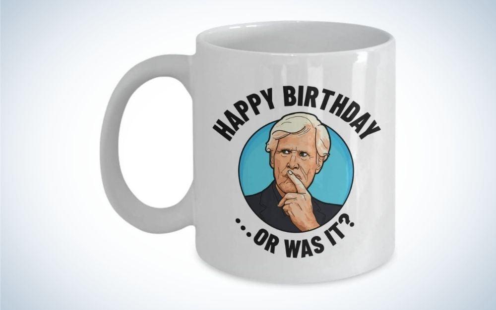 White, ceramic coffee mug fun mother's day gift