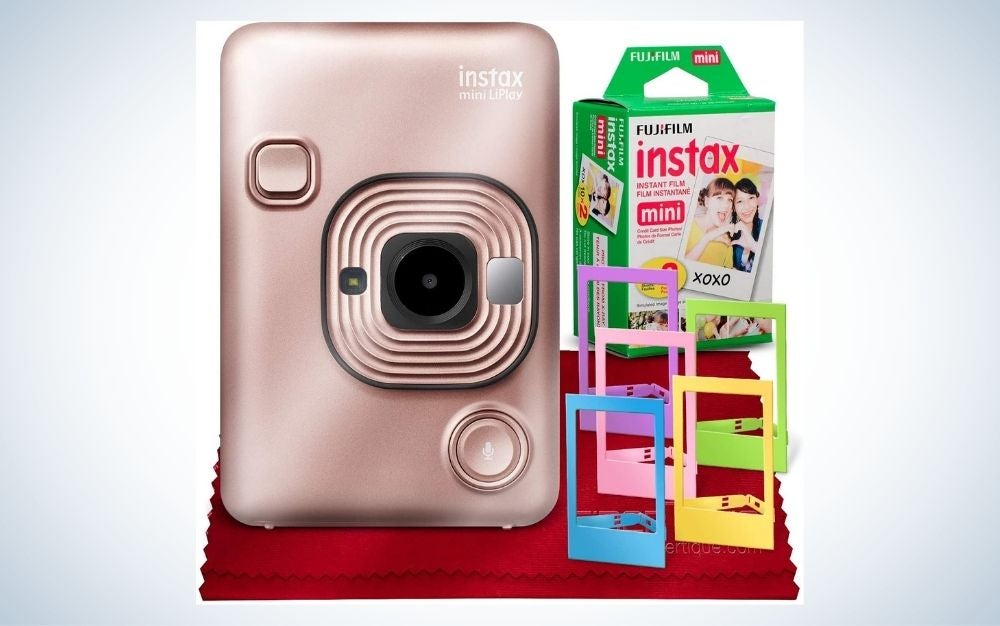 Fujifilm Instax camera and film mother's day gift
