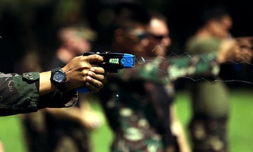 There's shockingly scant data on how often police use Tasers on kids