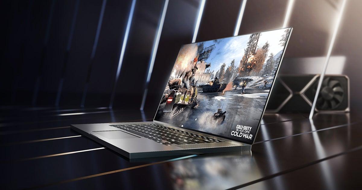 Nvidia RTX 30-series laptop