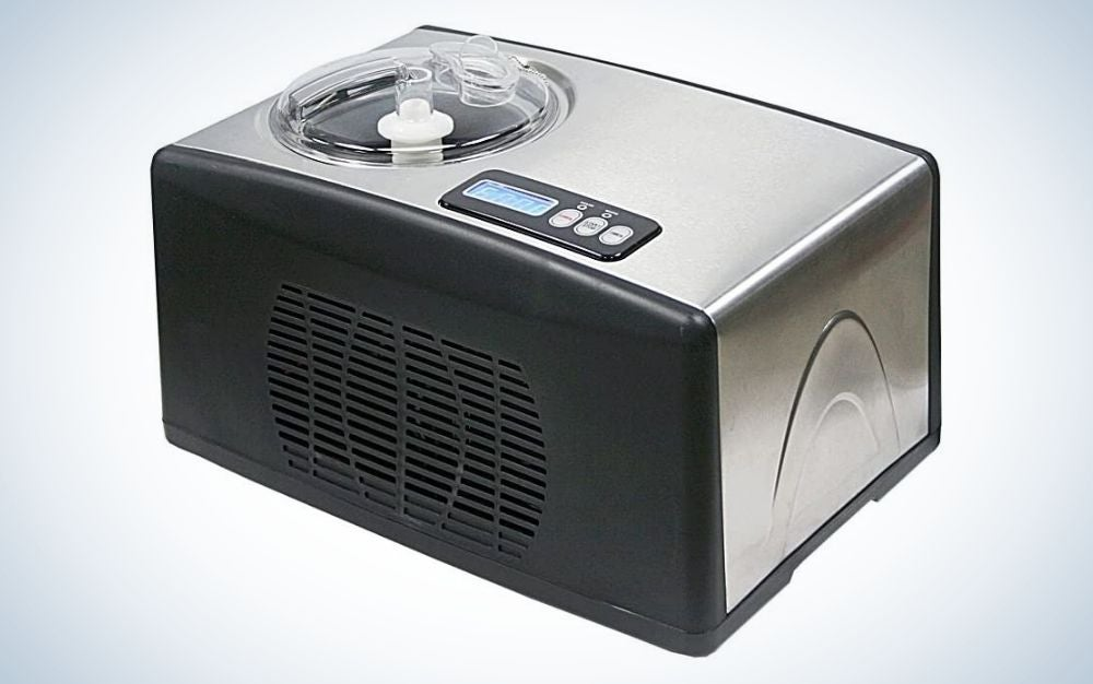 Whynter ice cream maker with timer