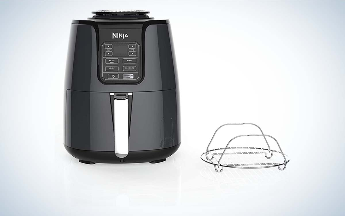 The Ninja 4-Quart Air Fryer is the best option on a budget.