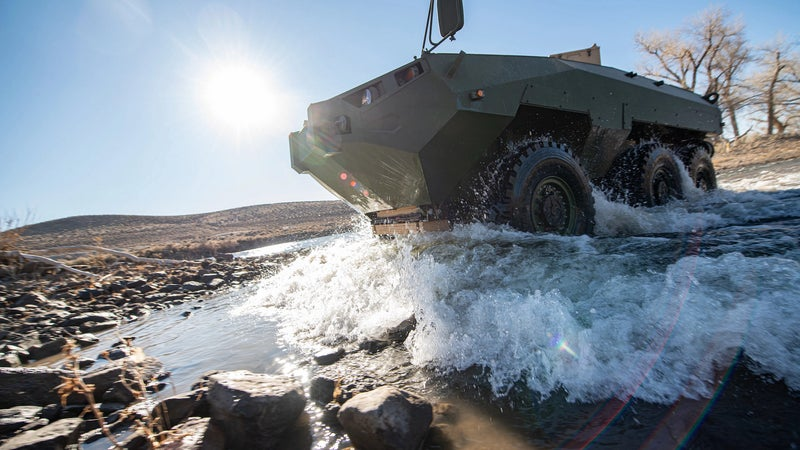 The Cottonmouth amphibious vehicle could carry Marines into future battles